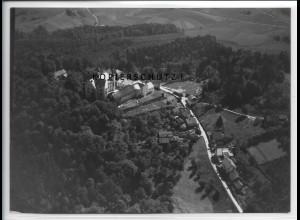 ZZ-4214/ Englburg bei Tittling Foto seltenes Luftbild 1938 18 x 13 cm