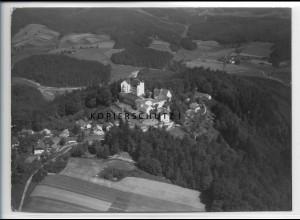 ZZ-4215/ Englburg bei Tittling Foto seltenes Luftbild 1938 18 x 13 cm