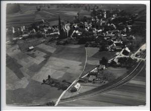 ZZ-4216/ Tittling Foto seltenes Luftbild 1938 18 x 13 cm