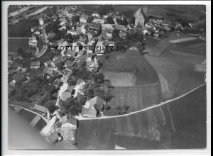 ZZ-4217/ Tittling Foto seltenes Luftbild 1938 18 x 13 cm