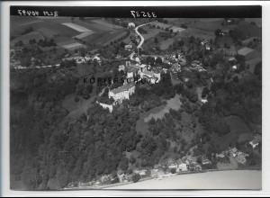 ZZ-4223/ Neuburg bei Passau Foto seltenes Luftbild 1938 18 x 13 cm
