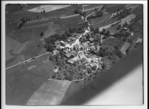 ZZ-4226/ Harsdorf bei Röhrnbach Foto seltenes Luftbild 1938 18 x 13 cm