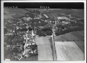 ZZ-4227/ Ering Niederbayern Foto seltenes Luftbild 1938 18 x 13 cm