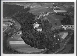 ZZ-4228/ Fürsteneck Niederbayern Foto seltenes Luftbild 1938 18 x 13 cm
