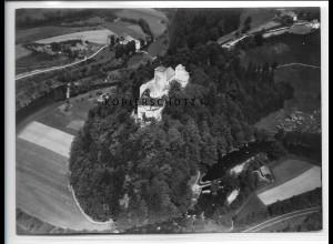 ZZ-4229/ Fürsteneck Niederbayern Foto seltenes Luftbild 1938 18 x 13 cm
