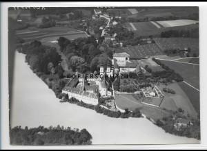 ZZ-4229/ Vornbach bei Neuhaus am Inn Foto seltenes Luftbild 1938 18 x 13 cm