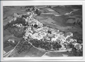 ZZ-4236/ Perlesreut Foto seltenes Luftbild 1938 18 x 13 cm