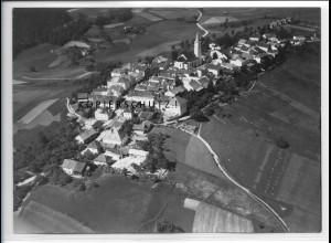 ZZ-4237/ Perlesreut Foto seltenes Luftbild 1938 18 x 13 cm