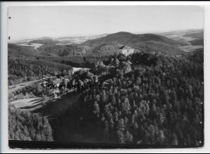 ZZ-4240/ Saldenburg Foto seltenes Luftbild 1936 18 x 13 cm