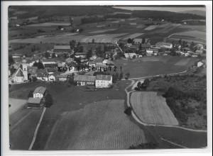 ZZ-4087/ March bei Regen Foto seltenes Luftbild 1937 18 x 13 cm