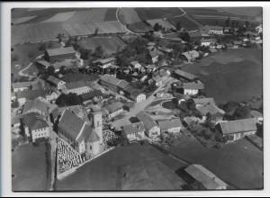 ZZ-4088/ March bei Regen Foto seltenes Luftbild 1937 18 x 13 cm