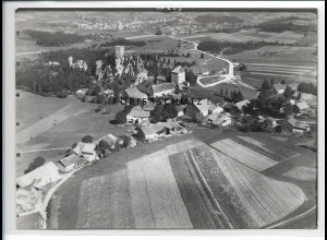 ZZ-4242/ Weißenstein bei Regen Foto seltenes Luftbild 1937 18 x 13 cm