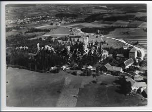 ZZ-4243/ Weißenstein bei Regen Foto seltenes Luftbild 1937 18 x 13 cm