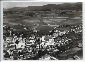 ZZ-4089/ Regen Foto seltenes Luftbild ca.1938 18 x 13 cm