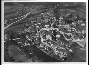 ZZ-4090/ Regen Foto seltenes Luftbild 1937 18 x 13 cm