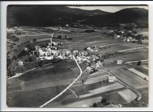 ZZ-4245/ Bischofsmais Foto seltenes Luftbild 1937 18 x 13 cm