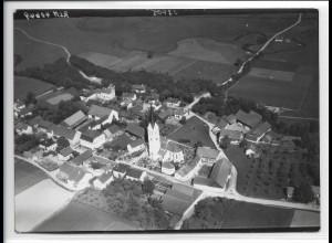 ZZ-4250/ Oberhausen bei Landau Foto seltenes Luftbild 1938 18 x 13 cm