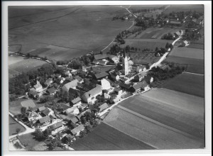 ZZ-4251/ Oberhausen bei Landau Foto seltenes Luftbild 1938 18 x 13 cm