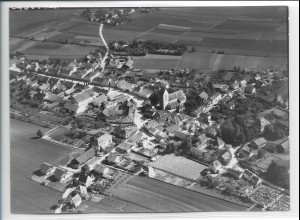 ZZ-4252/ Raisbach Bayern Foto seltenes Luftbild 1938 18 x 13 cm