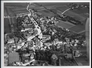 ZZ-4253/ Raisbach Bayern Foto seltenes Luftbild 1938 18 x 13 cm