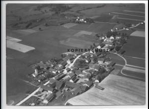 ZZ-4255/ Lappersdorf bei Eichendorf Foto seltenes Luftbild 1938 18 x 13 cm