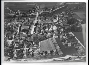 ZZ-4097/ Eichendorf Foto seltenes Luftbild 1938 18 x 13 cm