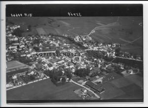 ZZ-4098/ Eichendorf Foto seltenes Luftbild 1938 18 x 13 cm