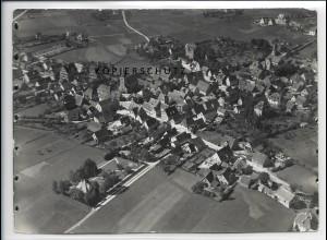 ZZ-4259/ Feucht Foto seltenes Luftbild 1937 18 x 13 cm