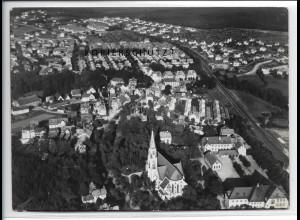 ZZ-4101/ Röthenbach a.d Pegnitz Foto seltenes Luftbild 1938 17,5 x 12,5 cm
