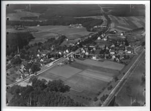 ZZ-4264/ Ochenbruck - Schwarzenbruck Foto seltenes Luftbild ca.1938 18 x 13 cm