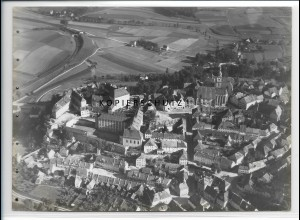 ZZ-4103/ Sulzbach - Rosenberg Foto seltenes Luftbild 1937 18 x 13 cm