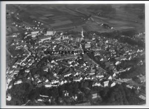 ZZ-4105/ Sulzbach - Rosenberg Foto seltenes Luftbild 1937 18 x 13 cm