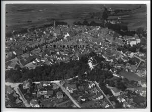 ZZ-4110/ Neumarkt i.d. Opf. Foto seltenes Luftbild 1937 18 x 13 cm