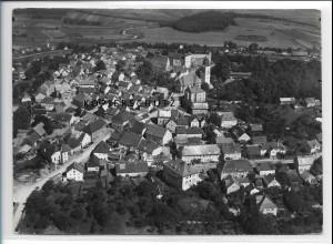 ZZ-4273/ Parsberg Foto seltenes Luftbild 1937 18 x 13 cm
