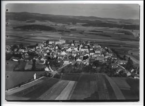 ZZ-4274/ Lupburg Foto seltenes Luftbild 1937 18 x 13 cm