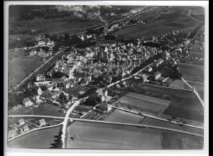 ZZ-4279/ Beilngries im Altmühltal Foto seltenes Luftbild 1937 18 x 13 cm
