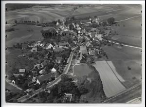 ZZ-4282/ Postbauer bei Neumarkt Foto seltenes Luftbild 1937 18 x 13 cm