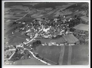 ZZ-4283/ Velburg Foto seltenes Luftbild 1937 18 x 13 cm