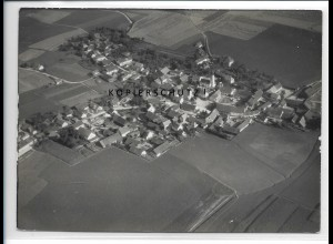 ZZ-4292/ Dünzling bei Bad Abbach Foto seltenes Luftbild 1938 18 x 13 cm