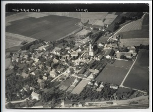ZZ-4293/ Obertraubling Foto seltenes Luftbild 1938 18 x 13 cm