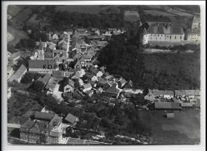 ZZ-4294/ Wörth an der Donau Foto seltenes Luftbild 1937 18 x 13 cm