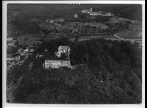 ZZ-4295/ Donaustauf bei Regensburg Foto seltenes Luftbild 1937 18 x 13 cm