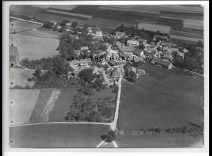 ZZ-4300/ Oppersdorf Lappersdorf b. Regensburg Foto Luftbild 1938 18 x 13 cm