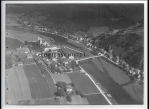 ZZ-4302/ Pielenhofen Opf. Foto seltenes Luftbild ca.1938 18 x 13 cm