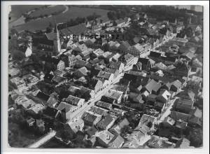ZZ-4304/ Kelheim Foto seltenes Luftbild 1937 18 x 13 cm
