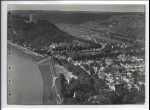 ZZ-4305/ Kelheim Foto seltenes Luftbild 1937 18 x 13 cm