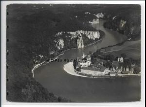 ZZ-4306/ Kloster Weltenburg Kelheim Foto seltenes Luftbild 1937 18 x 13 cm