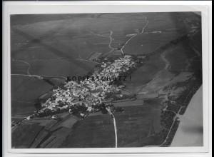 ZZ-4311/ Hienheim b. Neustadt a. d. Donau Foto seltenes Luftbild 1938 18 x 13 cm