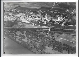 ZZ-4313/ Eining b. Neustadt a. d. Donau Foto seltenes Luftbild 1937 18 x 13 cm