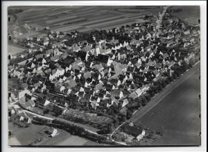 ZZ-4314/ Neustadt a. d. Donau Foto seltenes Luftbild 1937 18 x 13 cm